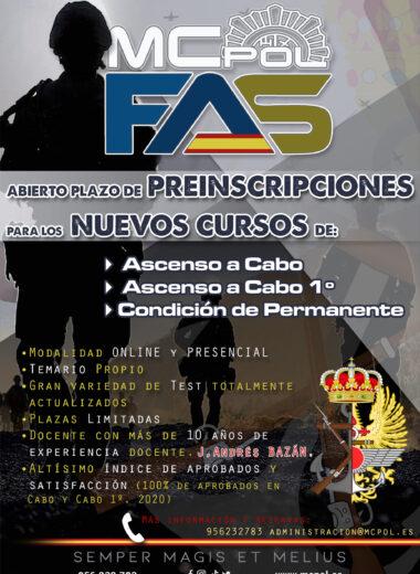 CARTEL A3 FFAA MCPOL 2020