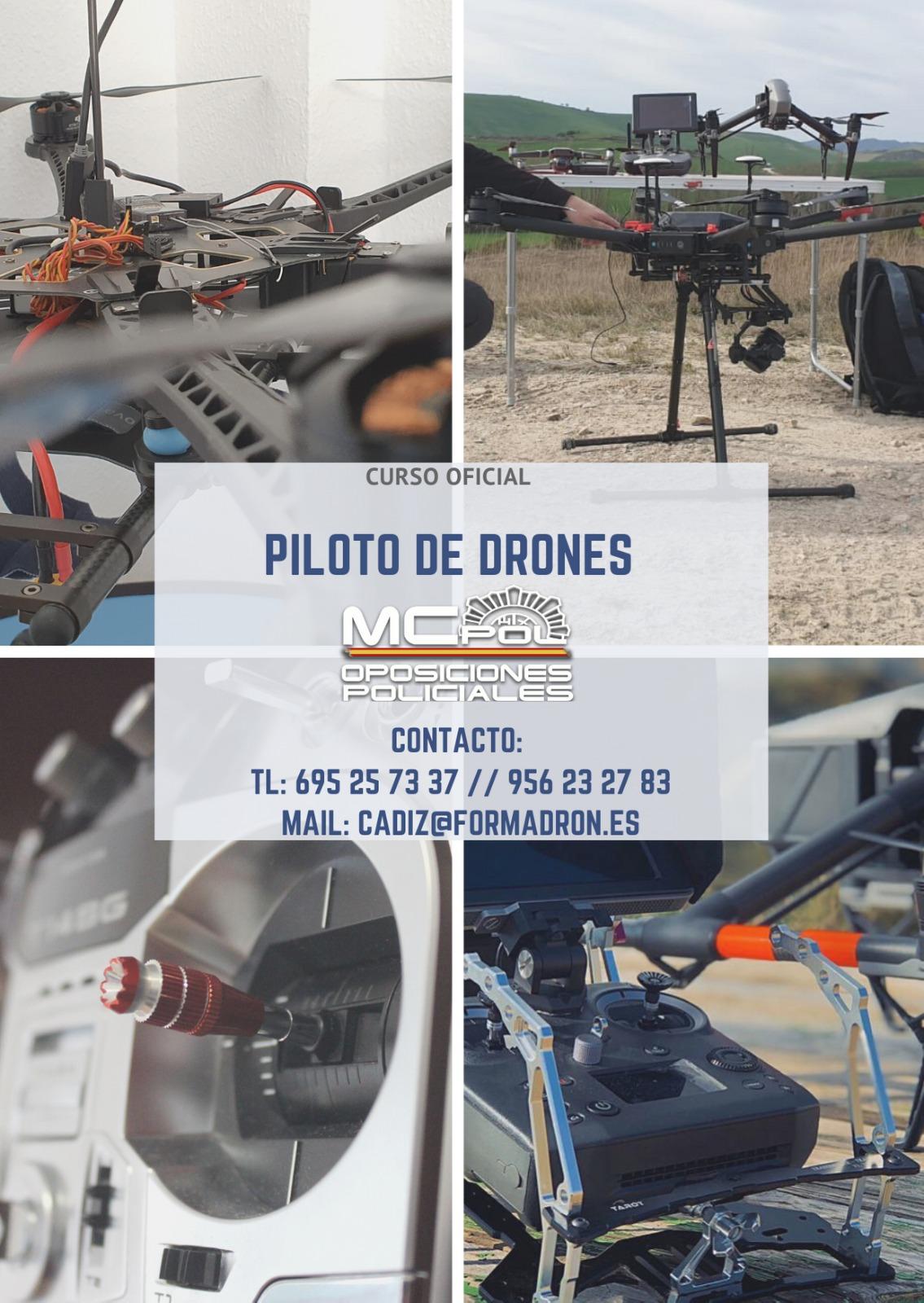 CURSO OFICIAL PILOTO DE DRONES